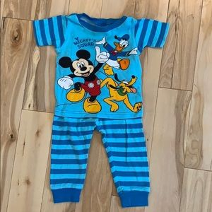 Disney- Mickey's Squad Toddler Pajama Set
